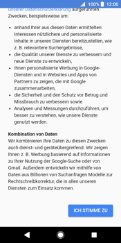 Sony Xperia XZ2 - Apps - Konto anlegen und einrichten - 14 / 19
