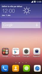 Huawei Ascend Y550 - Messagerie vocale - Configuration manuelle - Étape 2