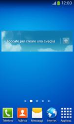 Samsung Galaxy Ace III - Operazioni iniziali - Installazione di widget e applicazioni nella schermata iniziale - Fase 8