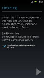 Sony Xperia J - Apps - Einrichten des App Stores - Schritt 23