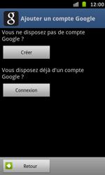 Samsung Galaxy S Advance - Applications - Configuration de votre store d
