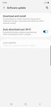 Samsung Galaxy Note 10 - Software - Installing software updates - Step 5
