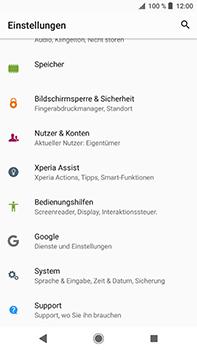 Sony Xperia XZ2 Premium - Fehlerbehebung - Handy zurücksetzen - Schritt 6