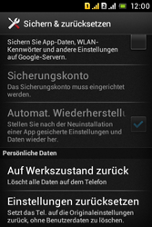 Sony Xperia Tipo Dual - Fehlerbehebung - Handy zurücksetzen - 7 / 11