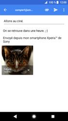 Sony Xperia XZ1 - E-mails - Envoyer un e-mail - Étape 16