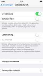 Apple iPhone 6 - Internet - Mobiele data uitschakelen - Stap 4
