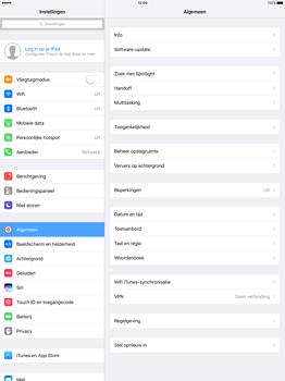 Apple iPad Pro 12.9 inch (2nd generation) - Netwerk selecteren - Handmatig een netwerk selecteren - Stap 4