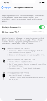 Apple iPhone 11 Pro Max - WiFi - Comment activer un point d'accès WiFi - Étape 8