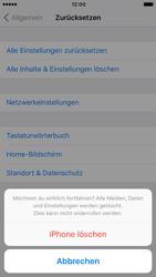 Apple iPhone 6s iOS 10 - Fehlerbehebung - Handy zurücksetzen - Schritt 9