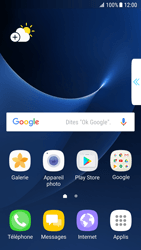 Samsung Galaxy S7 Edge - Android N - Applications - Comment vérifier les mises à jour des applications - Étape 2