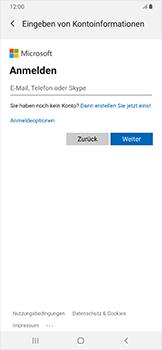 Samsung Galaxy A50 - E-Mail - Konto einrichten (outlook) - Schritt 7