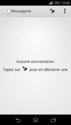 Sony Xpéria E3 - Contact, Appels, SMS/MMS - Envoyer un SMS - Étape 4