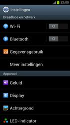 Samsung I9300 Galaxy S III - bluetooth - aanzetten - stap 4
