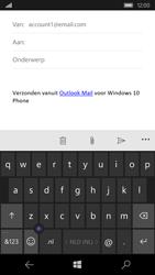 Microsoft Lumia 550 - e-mail - hoe te versturen - stap 5