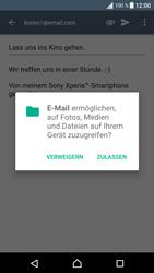 Sony Xperia XA - E-Mail - E-Mail versenden - 15 / 18