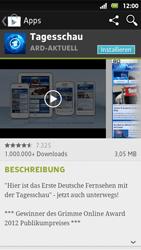 Sony Xperia Sola - Apps - Herunterladen - 1 / 1