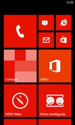 Nokia Lumia 720 - SMS - configuration manuelle - Étape 1