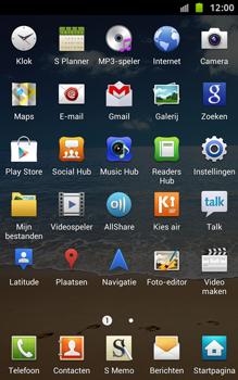 Samsung N7000 Galaxy Note met OS 4 ICS - Internet - Uitzetten - Stap 4