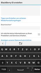 BlackBerry Leap - Apps - Konto anlegen und einrichten - 12 / 14