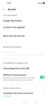 Oppo Reno 4 Pro - Sécuriser votre mobile - Personnaliser le code PIN de votre carte SIM - Étape 5