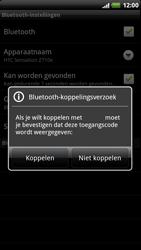 HTC Z715e Sensation XE - Bluetooth - koppelen met ander apparaat - Stap 10
