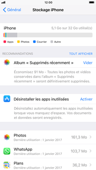 Apple iPhone 7 Plus - iOS 11 - Applications - Comment désinstaller une application - Étape 5