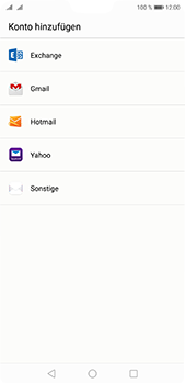 Huawei P20 Pro - E-Mail - 032b. Email wizard - Yahoo - Schritt 4