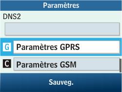 Samsung C3500 Chat 350 - Internet - configuration manuelle - Étape 11