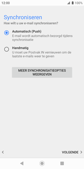 Sony xperia-xz2-h8216-android-pie - E-mail - Account instellen (IMAP zonder SMTP-verificatie) - Stap 19