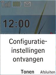 Nokia X2-00 - MMS - Automatisch instellen - Stap 3