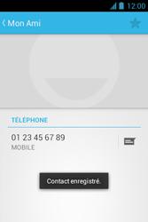Bouygues Telecom Bs 351 - Contact, Appels, SMS/MMS - Ajouter un contact - Étape 7