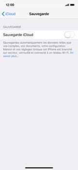Apple iPhone XS - Données - créer une sauvegarde avec votre compte - Étape 10