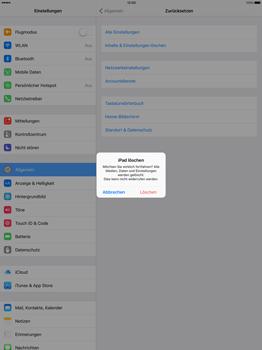 Apple iPad Pro 12.9 inch - Fehlerbehebung - Handy zurücksetzen - Schritt 8