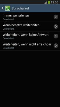 Samsung N9005 Galaxy Note 3 LTE - Anrufe - Rufumleitungen setzen und löschen - Schritt 9