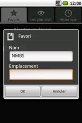 Samsung I5700 Galaxy Spica - Internet - navigation sur Internet - Étape 15
