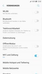 Samsung Galaxy S6 Edge - Android Nougat - Internet und Datenroaming - Deaktivieren von Datenroaming - Schritt 5