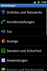 Samsung S5690 Galaxy Xcover - Anrufe - Rufumleitungen setzen und löschen - Schritt 4