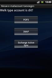 Sony Ericsson Xperia Mini Pro - E-mail - handmatig instellen - Stap 6