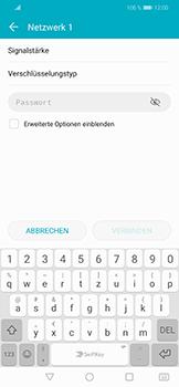 Huawei Honor Play - WLAN - Manuelle Konfiguration - Schritt 7