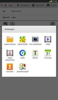 Samsung T211 Galaxy Tab 3 7-0 - E-Mail - E-Mail versenden - Schritt 11