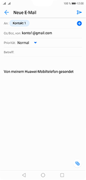 Huawei P20 Pro - E-Mail - E-Mail versenden - 7 / 17