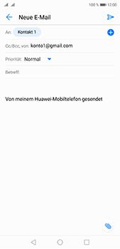 Huawei P20 Pro - E-Mail - E-Mail versenden - 0 / 0