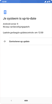 Nokia 3.1 Plus - Android Pie - software - update installeren zonder pc - stap 7