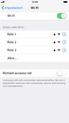 Apple iPhone 7 iOS 11 - WiFi - Configurazione WiFi - Fase 5