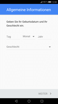 Huawei Mate 9 - Apps - Einrichten des App Stores - Schritt 6