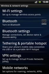 Sony Xperia Mini Pro - Internet - Manual configuration - Step 5