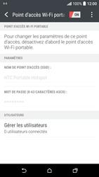 HTC Desire 530 - Internet et connexion - Partager votre connexion en Wi-Fi - Étape 17