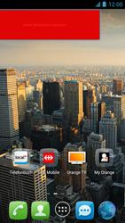 Alcatel One Touch Idol - Startanleitung - Installieren von Widgets und Apps auf der Startseite - Schritt 8
