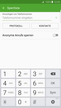 Samsung G928F Galaxy S6 edge+ - Anrufe - Anrufe blockieren - Schritt 8