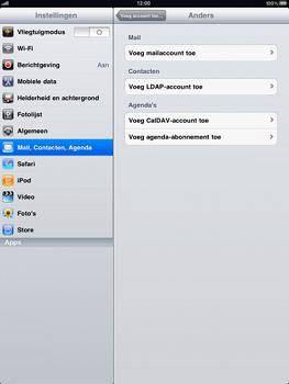 Apple iPad - E-mail - Handmatig instellen - Stap 5